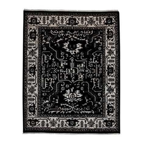 Heriz Deconstructed Rug, Black/Ivory Product Tile Image 041525