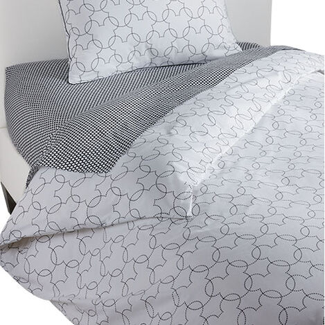 Mickey Mouse Dash Twin Duvet Cover, Mickey's Ears Black Product Tile Image 0353003  MKE