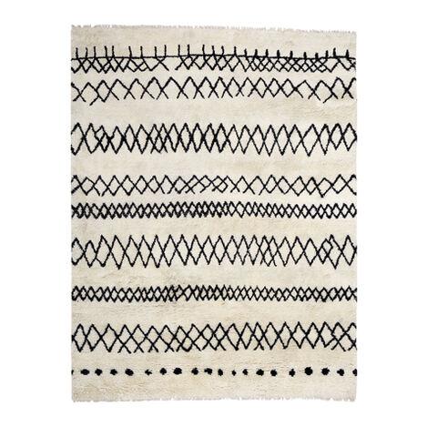 Intrinsik Rug, Ivory/Black Product Tile Image 041556