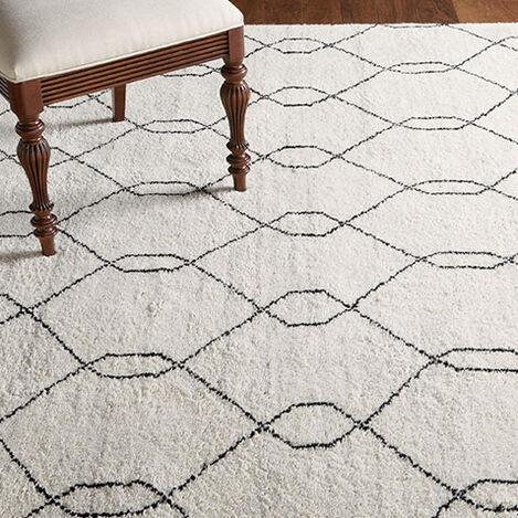 Tulu Trellis Rug, Natural/Black Product Tile Hover Image 041552
