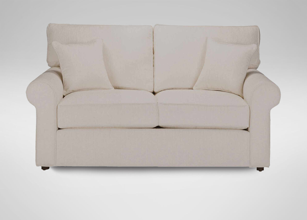 Retreat Roll-Arm Sofa , , Large_gray