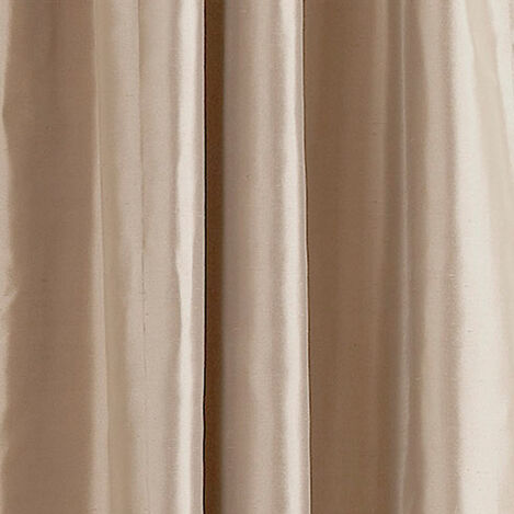 Ivory Satin Dupioni Fabric ,  , large
