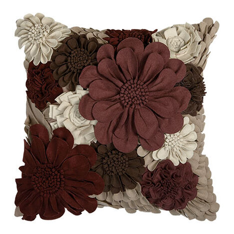 Wildflower Pillow, Beet Product Tile Image 065752