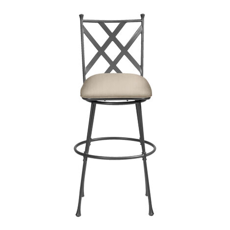 Biscayne Swivel Tall Barstool ,  , large