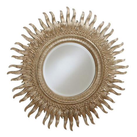 "43"" Silver Sunburst Mirror ,  , large"