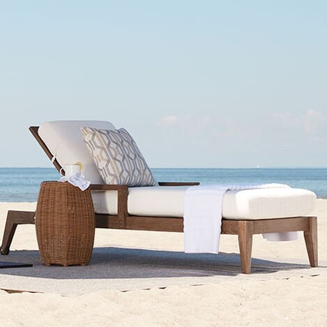 Bridgewater Cove Teak Chaise Product Tile Hover Image 404010