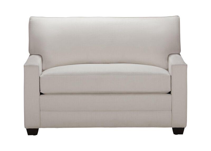 Bennett Track-Arm Chair-and-a-Half Twin Sleeper