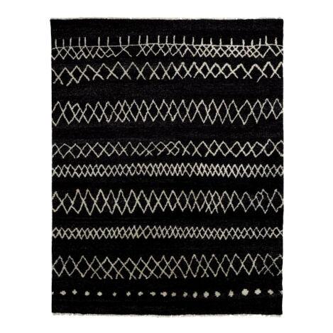 Intrinsik Rug, Black/Ivory Product Tile Image 041557T