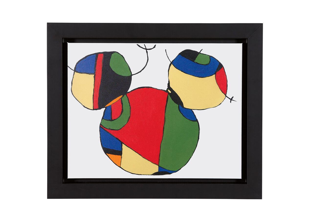 Expressionist mickey ii art ethan allen for Where is the closest craft store to my location