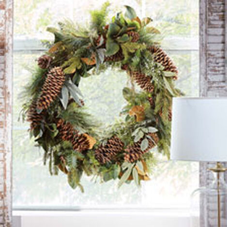 "42"" Pine Wreath Product Tile Hover Image 442237"
