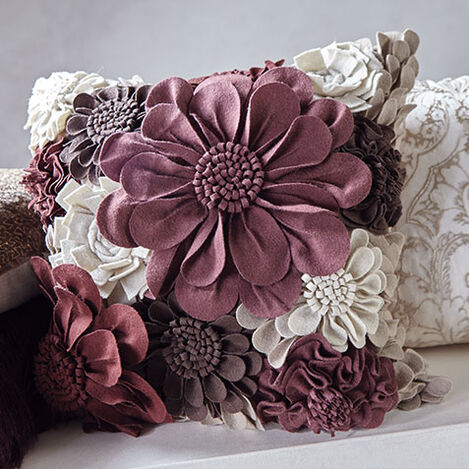 Wildflower Pillow, Beet Product Tile Hover Image 065752