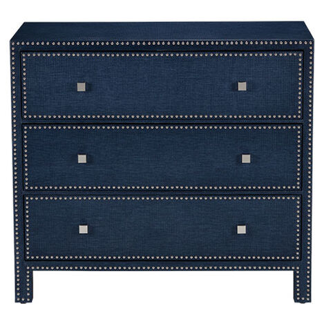McLevin Cobalt Three-Drawer Chest Product Tile Image 135224   C21