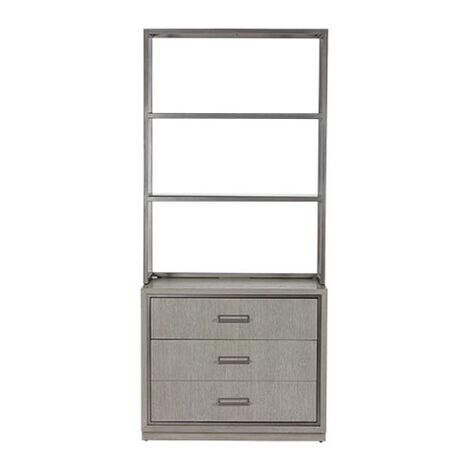 Faraday Two-Drawer File Cabinet with Hutch Product Tile Image 369206G