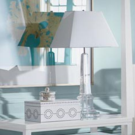 Leslie Crystal Table Lamp ,  , hover_image