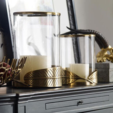 Leaf Hurricane, Brass Product Tile Hover Image 436894