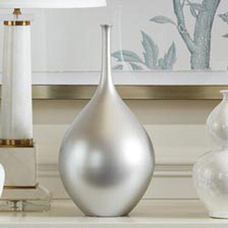 Issa Metallic Vase Product Tile Hover Image IssaVase