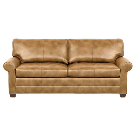 Bennett Roll-Arm Leather Two Seat Sofa Product Tile Image bennettlthra