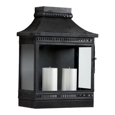 Black Fulton Wall Lantern ,  , large