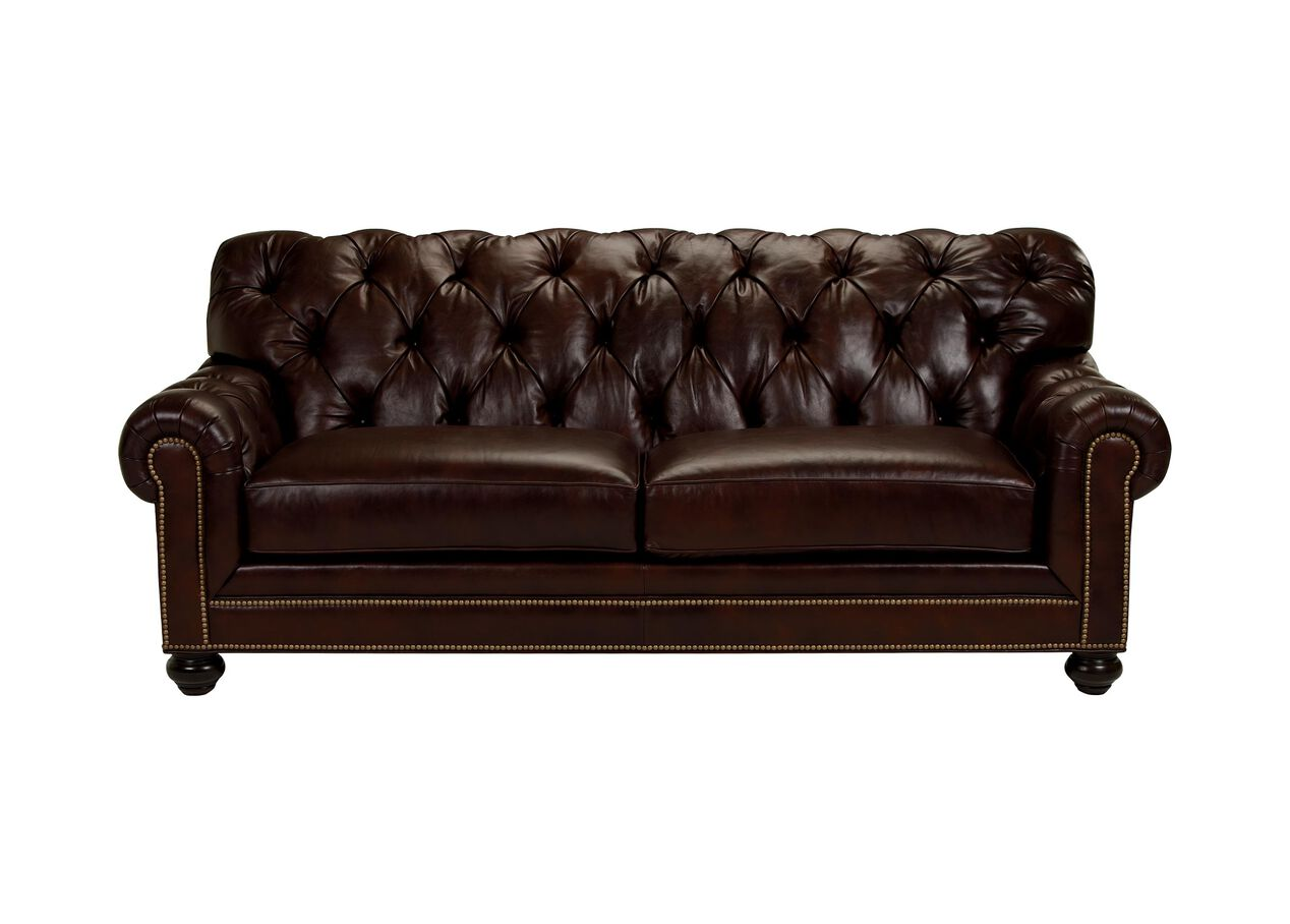 Chadwick Leather Sofa Sofas Loveseats - Ethan allen chadwick sofa