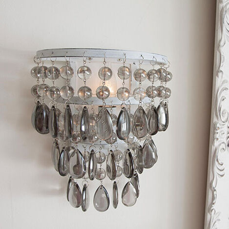 Boho Beaded Wall Sconce Product Tile Hover Image 098004MST