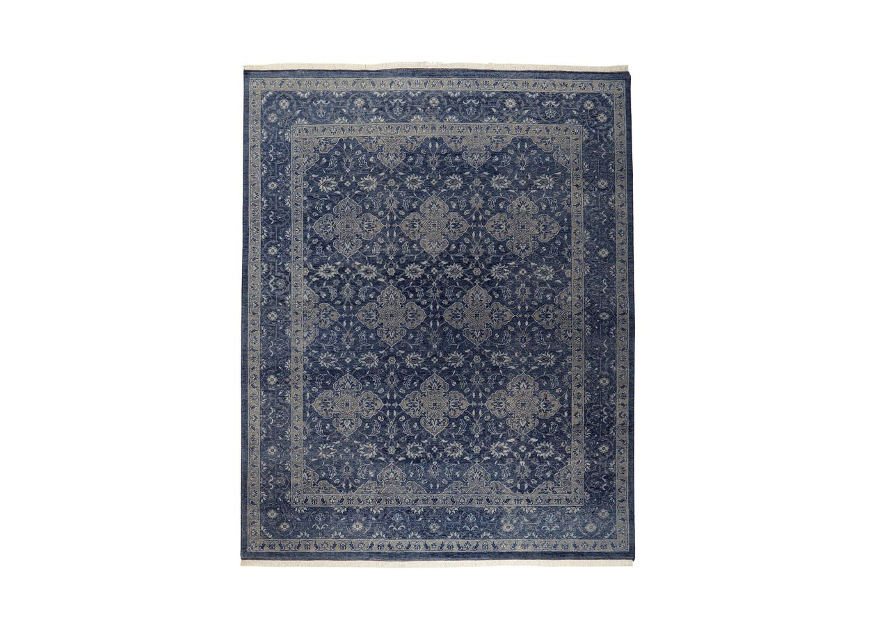 Heirloom Blue Rug Area Rug Ethan Allen