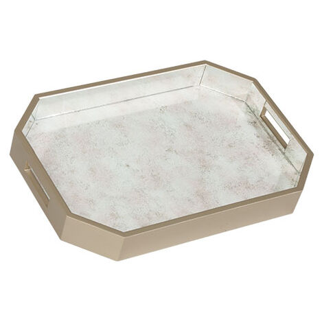 Zaria Mirrored Tray ,  , large