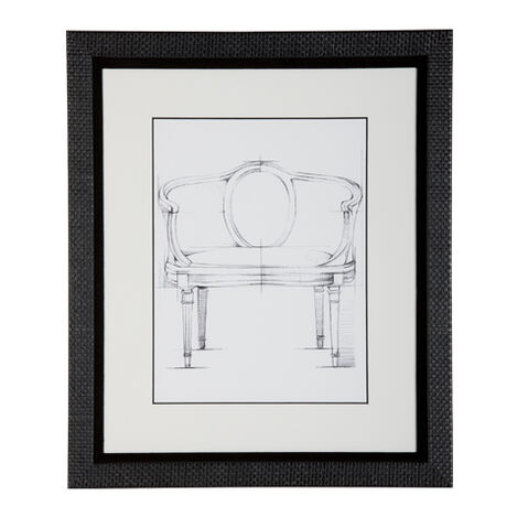 Historic Chair Sketch X ,  , large