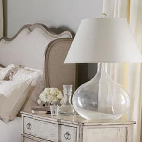 Clear Glass Table Lamp ,  , hover_image
