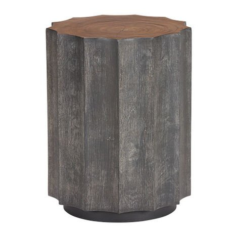 Girard Reclaimed Wood End Table Product Tile Image 228033
