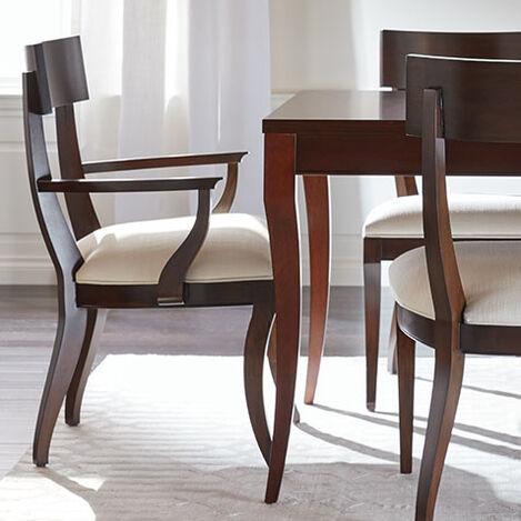 Chaise Avec Accoudoirs Klismos Product Tile Hover Image 396300A