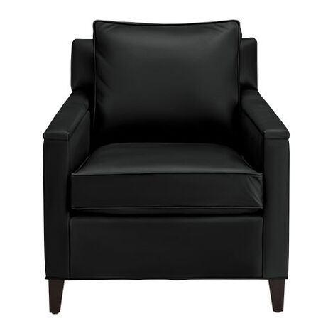 Glen Small Leather Club Chair Product Tile Image 722267