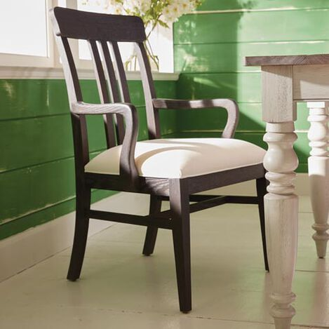 Haddam Slat-Back Dining Armchair Product Tile Hover Image 226300A