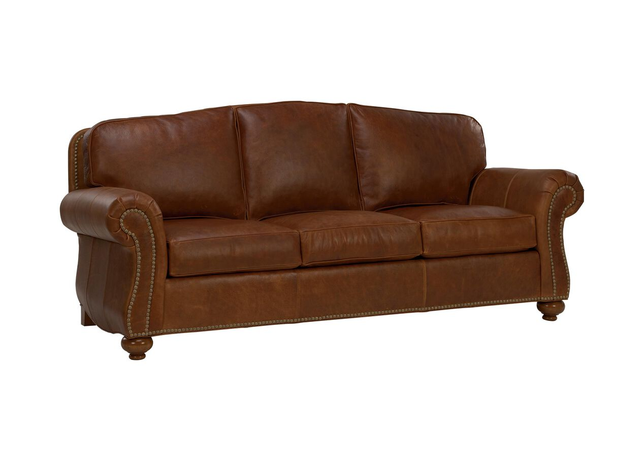 Whitney Leather Sofa Sofas Loveseats