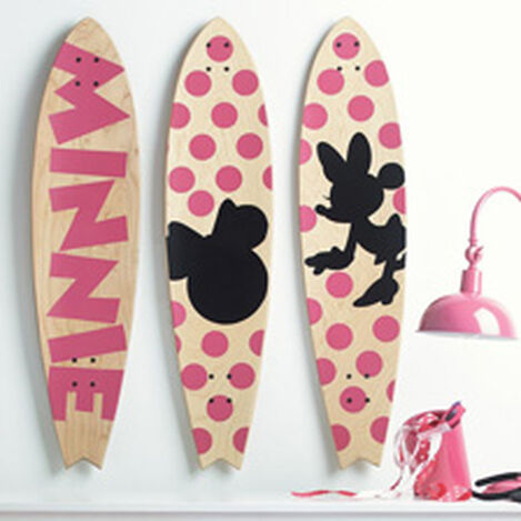 Minnie Mouse Longboard Wall Art I ,  , hover_image