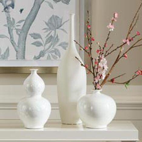 Issa White Vase Product Tile Hover Image 431803