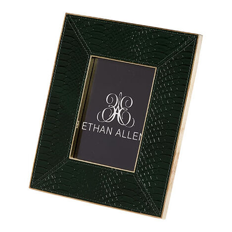 Emerald Snakeskin Picture Frame ,  , large