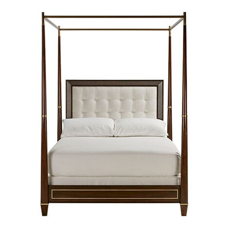 Andover Upholstered Poster Bed Product Tile Image 395630