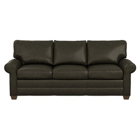 Bennett Roll-Arm Leather Three Seat Sofa Product Tile Image bennettlthRA3seat