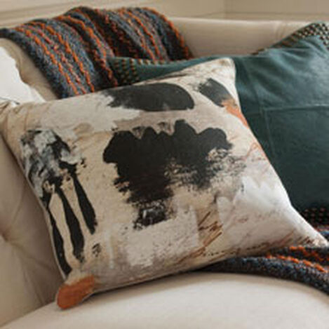 Abstract Print Pillow ,  , hover_image