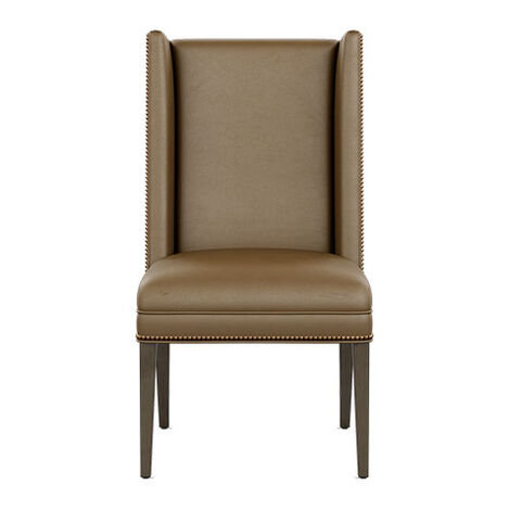 Yves Leather Side Chair Product Tile Image 727313