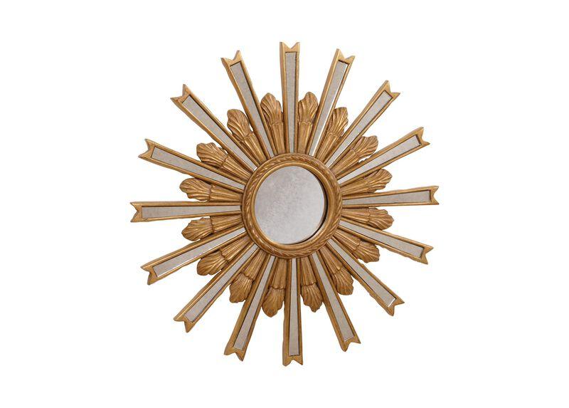 """20"""" Gold Starburst Mirror ,  , large_gray"""
