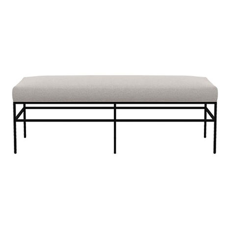 Ferri Upholstered Metal Bench Product Tile Image 132520
