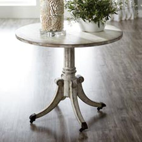 Vienna Round Pedestal Table, Brie ,  , hover_image