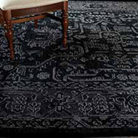 Heriz Deconstructed Rug, Charcoal ,  , hover_image