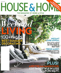 Canadian House & Home July 2015