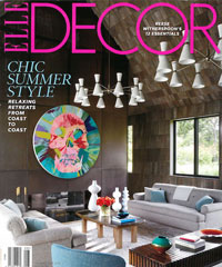 Elle Decor August 2015