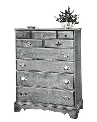 1940s Ethan Allen dresser