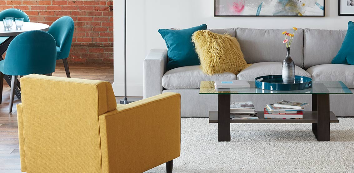custom sofas, chairs, and more