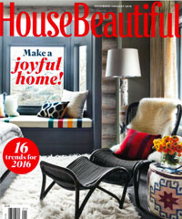 House Beautiful January 2016