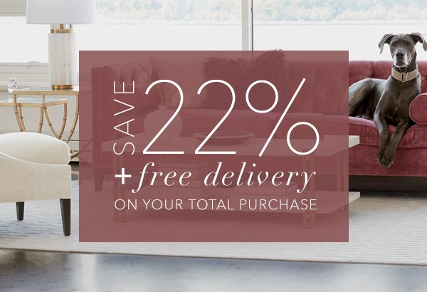 save 22% + free delivery